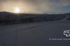 Nahe des Nordkapps