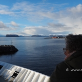 Die MS Polarlys in Hammerfest