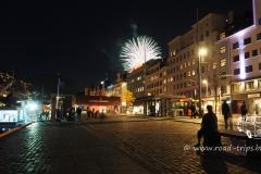 Ein Feuerwerk zum Abschied