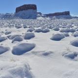 Im winterlichen Castle Valley