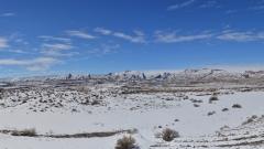 Unterwegs auf der I70 westlich von Green River, Utah