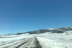Kurz nach Torrey auf dem Weg westwärts