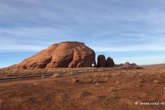 Wir nähern uns dem Monument Valley