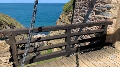 Die Zugbrücke zum inneren Teil der Festung