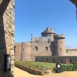 Der vordere Teil der Festung vor der Zugbrücke